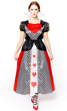 Queen of Hearts - Adult Costume