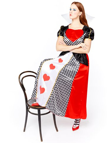 Queen of Hearts - Adult Costume left