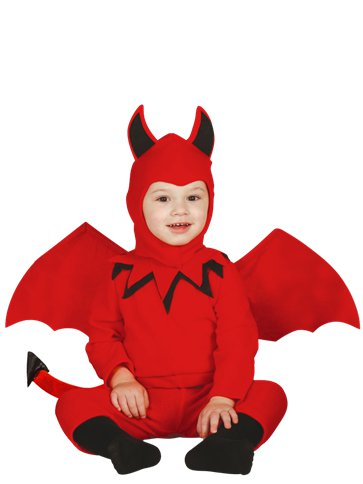 Cute Devil Boy - Toddler Costume front