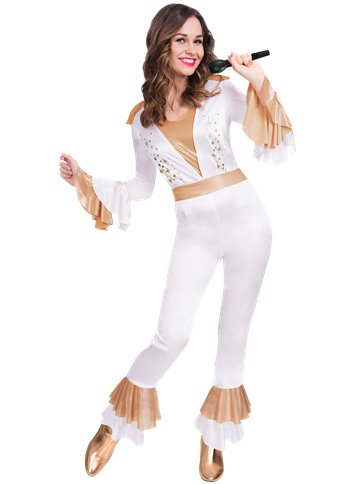 Disco Queen - Adult Costume front