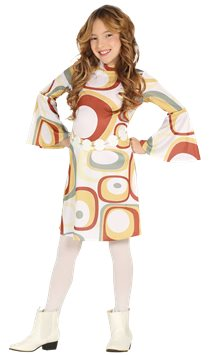 70s Disco Girl - Child Costume