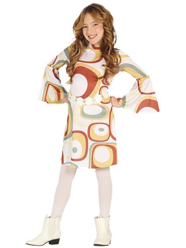 70s Disco Girl - Child Costume front