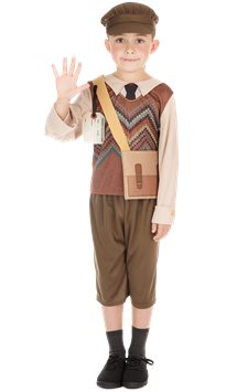 Evacuee Schoolboy - Child Costume