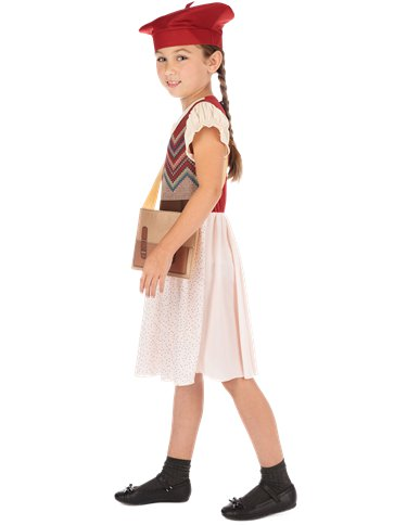 Evacuee Schoolgirl - Child Costume left