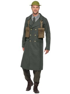 WW2 British Office Trench Coat
