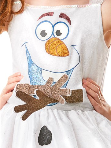 Disney Frozen 2 Olaf Dress - Child Costume back