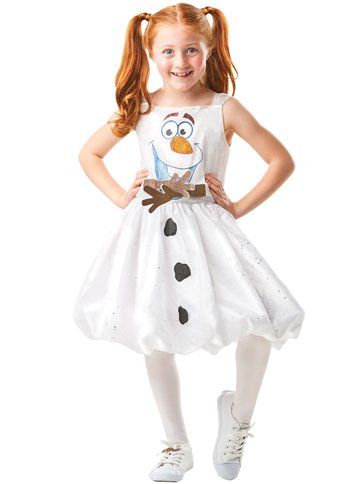 Disney Frozen 2 Olaf Dress - Child Costume front