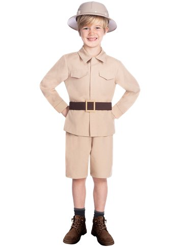 Safari Boy - Child Costume front