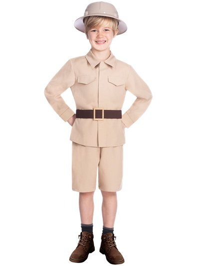 Safari Boy - Child Costume