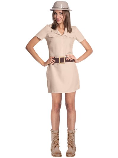 Safari Woman - Adult Costume