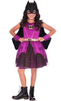 Batgirl Purple - Child Costume