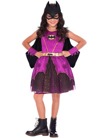 Batgirl Purple - Child Costume front