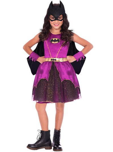 Purple Batgirl - Child Costume