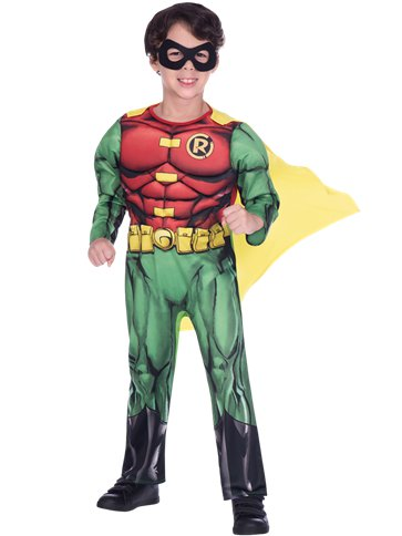 Robin Muscle Chest - Child Costume front