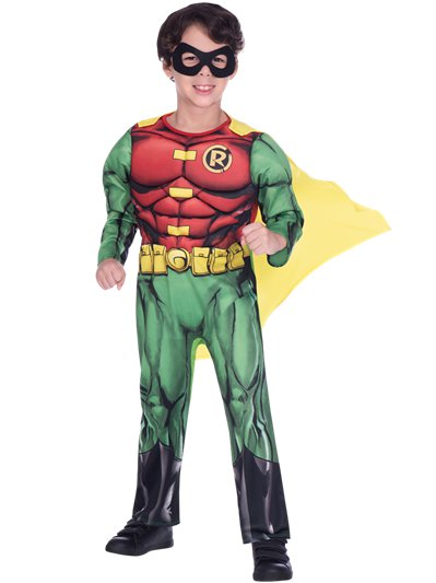 Robin Muscle Chest - Child Costume