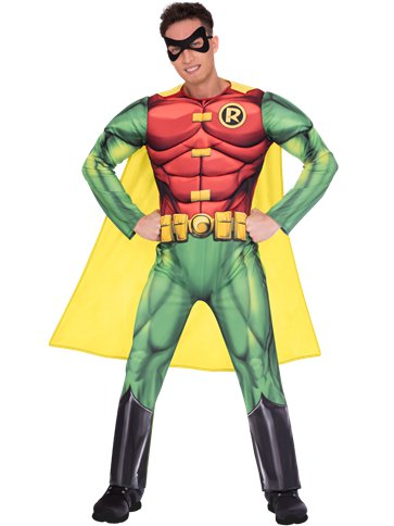 Robin Muscle Chest - Adult Costume front