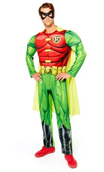 Robin Muscle Chest - Adult Costume