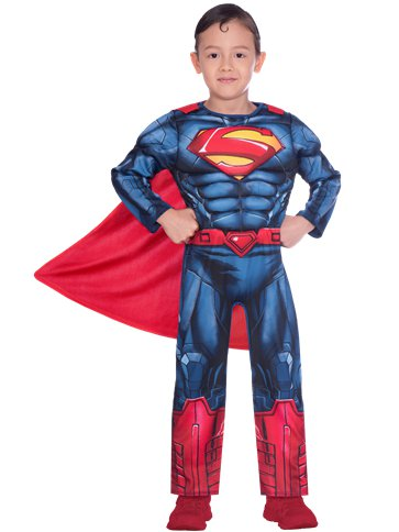 Superman Muscle Chest - Child Costume front