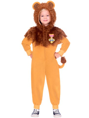 Wizard of Oz Cowardly Lion Child Costume front