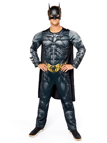 Batman Dark Knight Muscle Chest - Adult Costume front