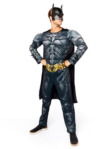 Batman Dark Knight Muscle Chest - Adult Costume left