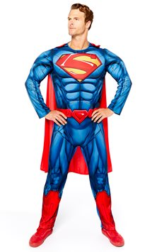 Superman Muscle Chest - Adult Costume