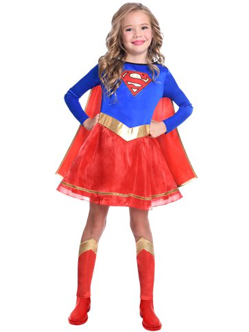 Supergirl - Child Costume front