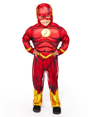 The Flash Muscle Chest - Child Costume front