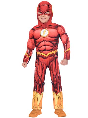 The Flash Muscle Chest - Child Costume pla