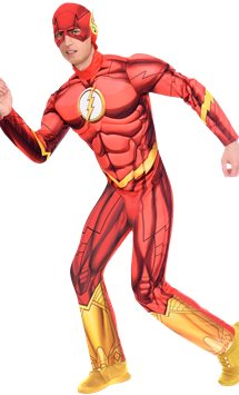 The Flash Muscle Chest - Adult Costume