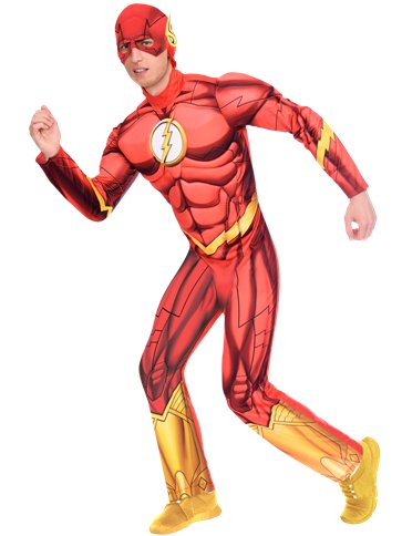 The Flash Muscle Chest - Adult Costume front