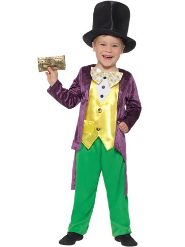 Willy Wonka - Child Costume front