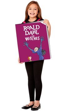 Roald Dahl The Witches Book Cover - Child Costume