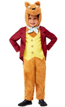 Roald Dahl Fantastic Mr Fox - Toddler & Child Costume
