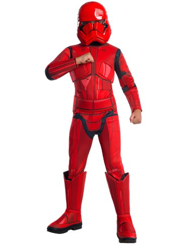 Deluxe Red Trooper - Child Costume front
