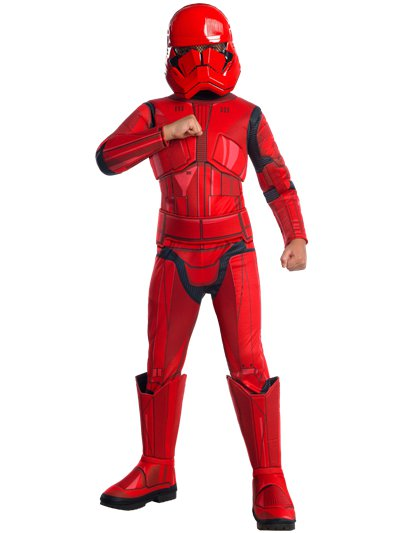 Deluxe Red Trooper - Child Costume