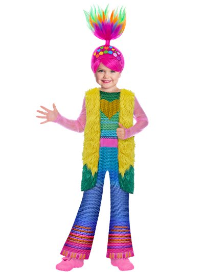 Trolls Poppy Finale - Child Costume