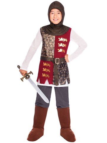 Valiant Knight - Child Costume front