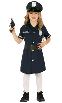 Police Girl - Child Costume