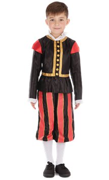Tudor Boy - Child Costume