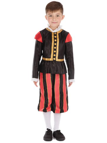 Tudor Boy - Child Costume front