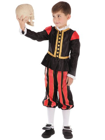 Tudor Boy - Child Costume left