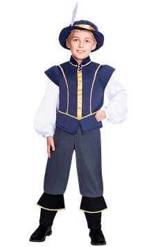 Tudor Prince Boy - Child Costume