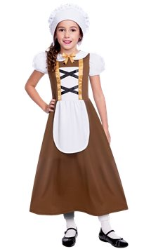 Tudor Girl - Child Costume