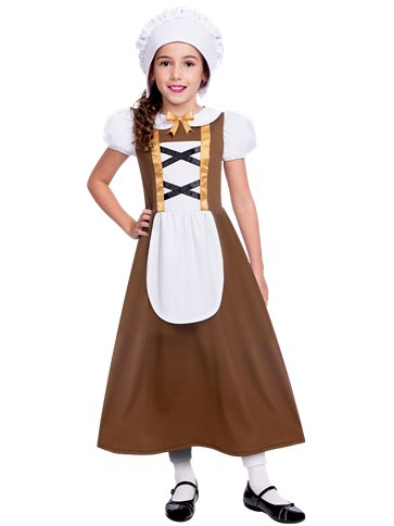 Tudor Girl - Child Costume front