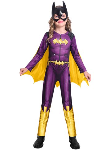 Batgirl Comic - Child Costume back