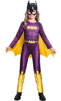 Batgirl Comic - Child Costume