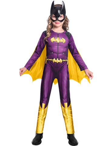 Batgirl Comic - Child Costume front