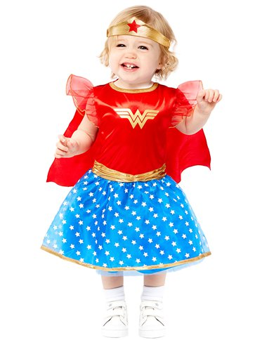 Wonder Woman - Baby & Toddler Costume front