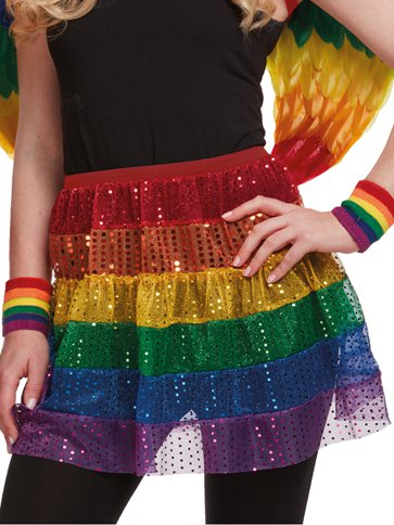 Pride Skirt - Adult Costume front